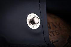 Reykjavik Raincoats Navy silver button