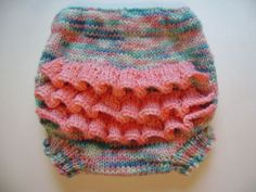 Cutie Bahootie pattern- knit wool soaker pattern. $5.95, via Etsy.
