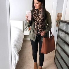 This simple combo is one of my faves from the #PMTFallChallenge2017! Loving how mixing neutrals and adding a pattern makes the all black column come alive. The scarf, tee, and similar boots with good reviews are between $19-$32 ! Shop this outfit by headi