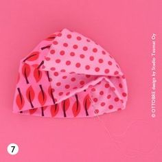 HOW TO SEW A CUTE JERSEY BEANIE FOR BABY   This is a great way to use up pieces of jersey left-over from other projects. You can make the b...