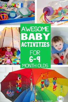 40+ Baby Activities: Fun & Easy Play Ideas - Busy Toddler