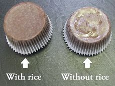 The Rice Trick - Grease-free Cupcake Liners
