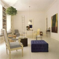 Today's Top 20 Rooms White Painted Floors, White Walls, Bedroom Sitting Room, Clarence House, World Of Interiors, Interior Decorating, Interior Design, Carriage House, Formal Living Rooms