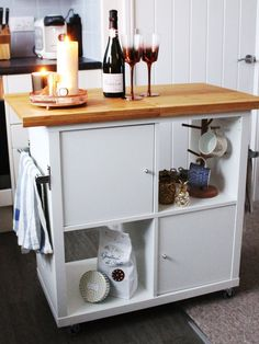 Make It: Kitchen Islands Created with IKEA Products | Apartment Therapy