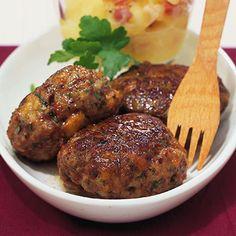 Fleischpflanzerl (German Hamburger)