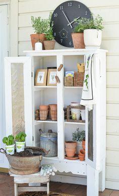 Outdoor Garden Storage Cabinet