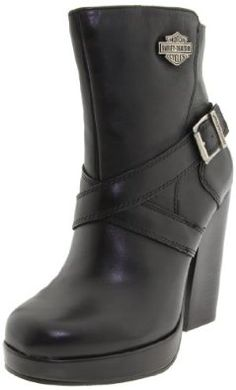 Harley-Davidson Women's Sandee...not a huge fan of motorcycle boots but dang these puppies are cute!