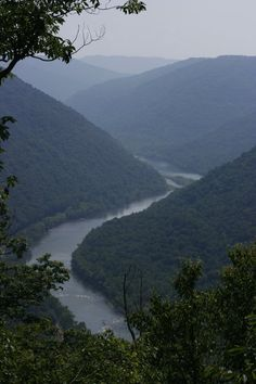 The New River Gorge, West Virginia