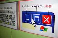 40 Quick and Easy Organization Tips Elementary Computer Lab, Computer Lab Lessons, Computer Lab Classroom, Computer Literacy, Computer Teacher, Teaching Computers, School Computers, Computer Basics, Technology Lessons