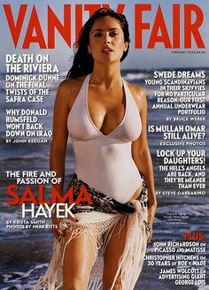 Salma Hayek @ Vanity Fair magazine (cover)