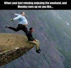 When Monday Runs Up On You funny lol monday humor funny pictures funny memes funny pics funny images really funny pictures funny pictures and images monday memes Funny Monday Memes, Funny Relatable Memes, Funny Jokes, Hilarious, Funniest Memes, Memes Humor, Really Funny, The Funny, Funny Happy