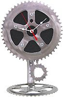 Resource Revival Recycled Pendulum Clock Made from Recycled Bike Parts | eBay