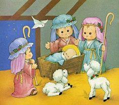 Pasitos de Colores: HISTORIA DE NAVIDAD Christmas Nativity, Christmas Clipart, Christmas Images, Christmas Time, Vintage Christmas, Decoupage, King Of Kings, Vintage Greeting Cards, Precious Moments