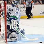 Cory Schneider made 30 saves in his fifth career shutout