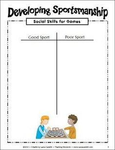 How to teach kids to be good sports - blog post by Laura Candler with teaching tips for using math games in the classroom Social Skills Activities, Teaching Social Skills, Math Games, Teaching Resources, Pe Games, Sports Activities, Teaching Ideas, Character Education, Physical Education