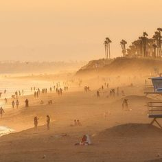 Huntington State Beach, California