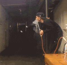 Cool smoke trick