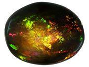 Ethiopian Chalama Black Opal(Tm) Minimum 1.75ct Mm Varies Oval (OPV896)