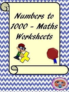 Math worksheets numbers to 1000These worksheets allow children to practice working with large numbers. These worksheets cover:Counting in 100sCounting in 50sUnderstanding place value (hundreds, tens and ones)Comparing and ordering numbersThanks for lookingPlease ask if you have any questions*********************************************************************My other math products: Multiplying Decimals - Complete Lesson .