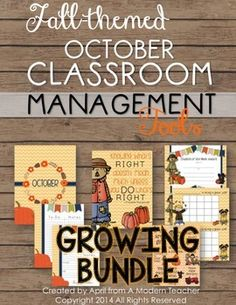 Classroom Management Tools for the Entire Year, $