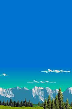 #pixel #landscape #nature