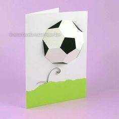 Football DIY card