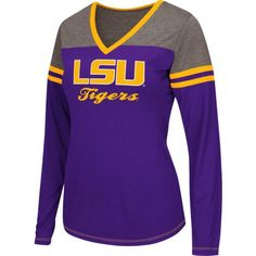 Image for Colosseum Athletics Women's Louisiana State University Zeta Football T-shirt from Academy