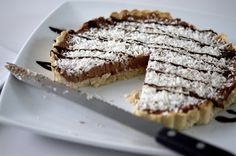 Chocolate Coconut PB Protein Tart 183 kcal 17g protein 14g carbs 8g fat
