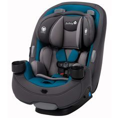 Safety 1st Grow and Go 3-in-1 Convertible Car Seat Blue Coral - CC138DWL