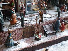 kerstdorpen3.nl :: Bekijk onderwerp - Zelf maken kadepaaltjes haven