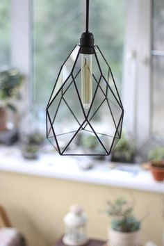 Exclusive StereometricDesigns big Kitchen Flower also known as Cafe Classic chandelier. This moderm glass chandelier with warm vintage series filament bulb is sophisticated air-weight solid as well as minimalist style shape. It looks nice and cozy at daylight and brings warm light