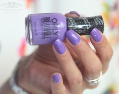 ORLY Breathable swatches: triple purple – Beautygoddess.nl