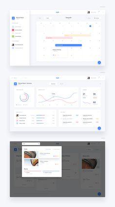 UI Design - Trello Atlassian Redesign Concept