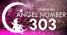 Angel number 303 is a sign of peace.