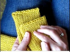 Tutorial - Getting Clean, Straight Edges on a Knitted Tube Scarf (Addi Express) Marilyn Lacey's Addi express scarf straight edge tutorial: http://www.youtube...