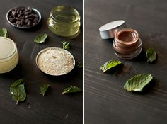 This DIY mint chocolate lip balm is basically dessert since it involves actual chocolate chips.