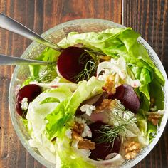 Roasted Beet Goat Cheese and Fennel Salad
