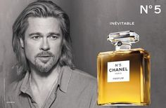 Chanel no 5 with Brad Pitt (preview) (Chanel)