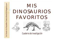 cuadernillo investigación dinosaurios                                                                                                                                                                                 Más
