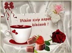 Animated Gif by Sz���±cs Ferenc Good Morning Greetings, Animated Gif, Animation, Tableware, Blog, Google, Dinnerware, Dishes, Blogging