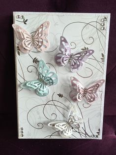 Create beautiful butterfly cards using the Dies by Chloe and Stamps by Chloe ranges Butterfly Cards Handmade, Pop Up Flower Cards, Chloes Creative Cards, Stamps By Chloe, Crafters Companion Cards, Craftwork Cards, Step Cards, Making Greeting Cards, Homemade Cards
