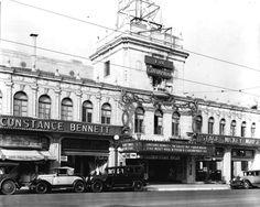 Pasadena's Fox Colorado Theatre, 1003 E. Colorado Street, 1931. Still in operation as the Academy Cinemas 6.