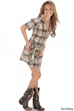 womens+boots+images | 47 Women's Brown Paisley Western Apparel. Dresses To Have With Boots ...