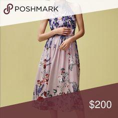 Petaline Midi Dress Brand new without tags Anthropologie Dresses Midi