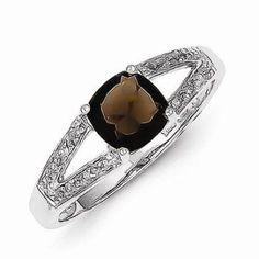 https://ariani-shop.com/925-sterling-silver-w-white-gold-rhodium-plated-cushion-cut-brown-smokey-quartz-diamond-fashion-or-engagement-ring-05-cttw-2mm 925 Sterling Silver w/ White Gold Rhodium Plated Cushion-cut Brown Smokey Quartz & Diamond Fashion or Engagement Ring (.05 cttw.) (2mm)