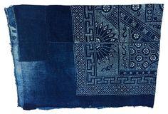 Indigo     Batik    Panel on OneKingsLane.com