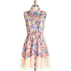 Um. WISH LIST ModCloth Mid-length Sleeveless A-line Petit Four the Best Dress