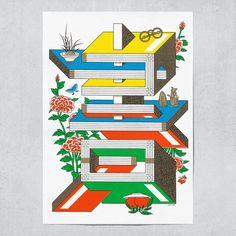 Jaemin Lee, graphic design, illustration, poster