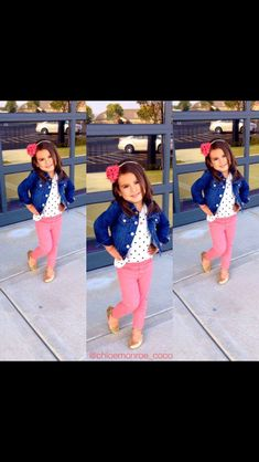 Cute outfit for little girls