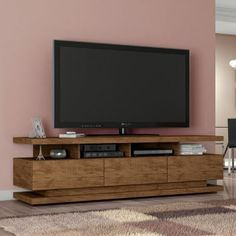 Floating Tv Cabinet, Rack Tv, Gold Wood, Tv Cabinets, Home Office, Projects To Try, House, Furniture, 1